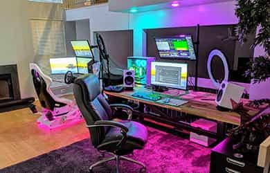 setup gaming fotos