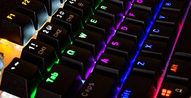 teclado setup gaming