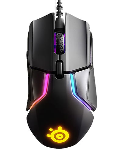 raton gaming rgb steelseries con cable