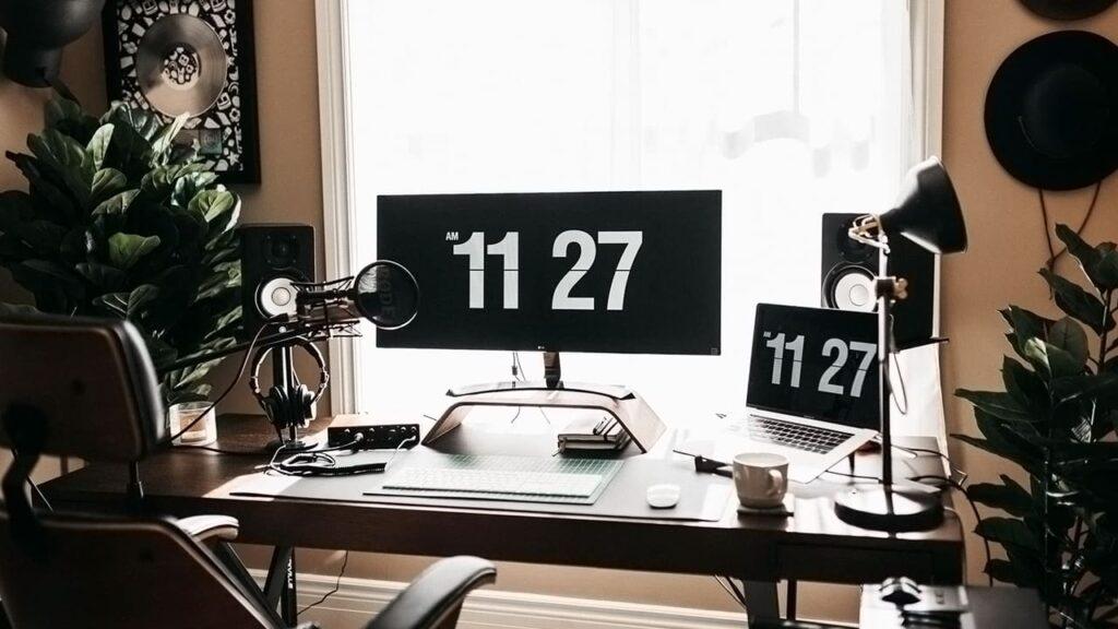 setup gaming moderno